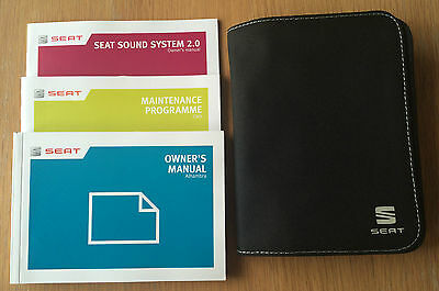 Seat Alhambra Owners Manual Handbook Pack With Wallet +Service 2012-2014 Ref3014
