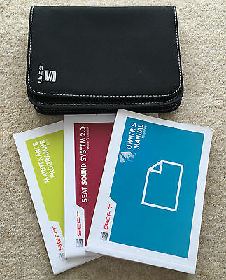 Seat Alhambra Owners Manual Handbook Pack With Wallet +Service 2012-2014 Ref3833