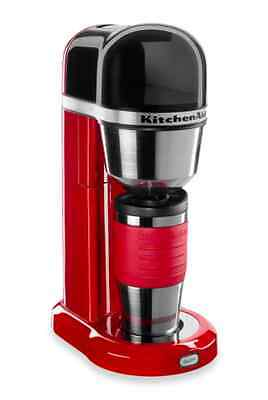 KitchenAid One-Touch Personal Brewer Individual Coffee Maker Thermal Travel Mug