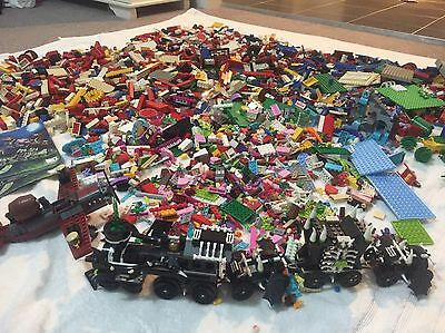 Lego Huge Bulk Lot Over 12kgs With Manuals Monster Fighters