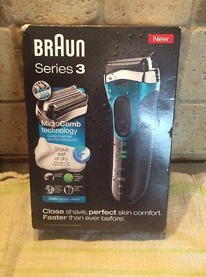 Braun Series 3 Wet and Dry 3080s  NEW & BOXED £54.99