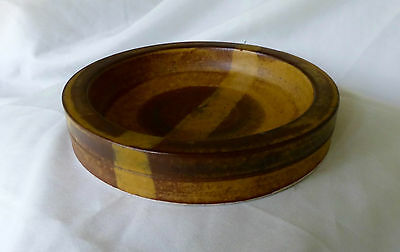 Derek Smith Blackfriars Pottery small dish: 1970's-1980's perfect condition
