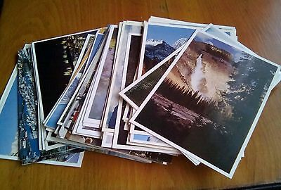 78 Postcards of Canada / Rockie Mountains - Mainly Unused