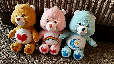 Care Bear Vintage Plush Teddys Toys