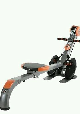 foldable rowing machine and gym