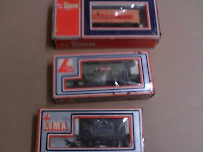 Lima Ho Scale Carriages New Old Stock X3