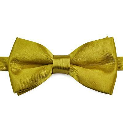 Adjustable Men Boys Kids Childrens Pre Tied Satin Wedding Party Bow Ties Bowties