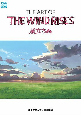"The Art of  "" The Wind Rises "" by Studio Ghibli Artbook  * neu"