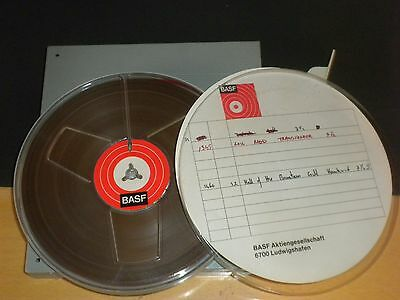 7 Vintage  Reel To Reel Tape 7 Inch Used