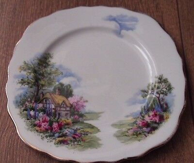 Royal Vale Bone China   Square  Tea Plate