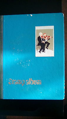 Stamp Album and Stamps