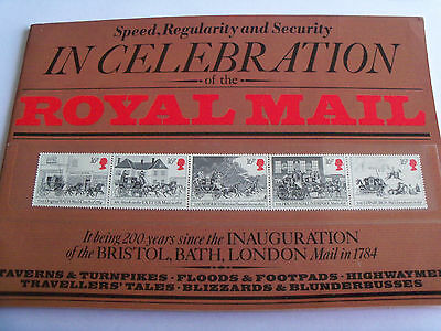 In Celebration of the Royal Mail Stamps Pack