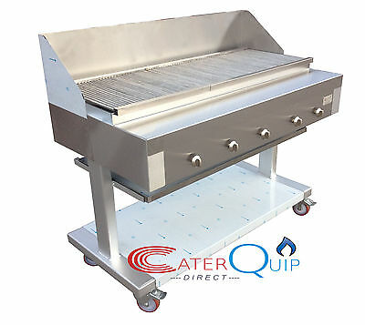 5 Burner Gas Char grill Charcoal Grill  BBQ Grill  Heavy Duty For Commercial Use