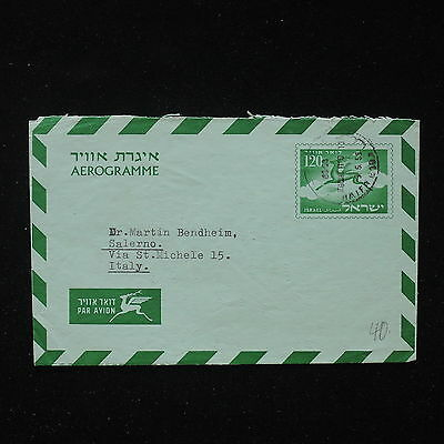 ZS-AA022 ISRAEL - Airmail, 1955 To Salerno Italy Cover