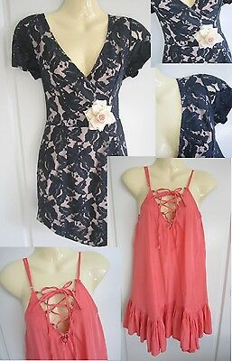 """2 """"LOVELY"""" Ladies Clothing - Dress & Top  - Size 8"""