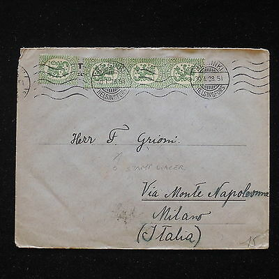 ZS-AA134 FINLAND - Cover, 1928 From Helsingfors To Milan, To A Stamps Dealer