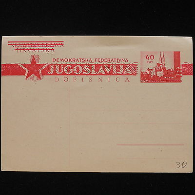 ZS-AA178 YUGOSLAVIA - Entire, Mint Cover
