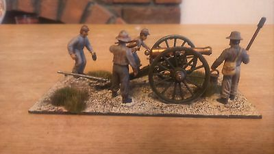 28mm Perry Miniatures American Civil War Artillery, hand painted