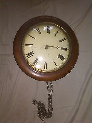 Antique Postman's Alarm Clock For Restoration