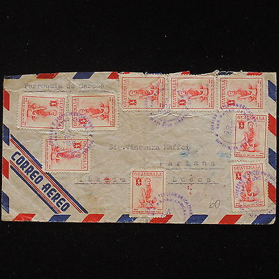 ZS-AA493 GUATEMALA - Airmail, 1956 To Pariana, Lucca Cover