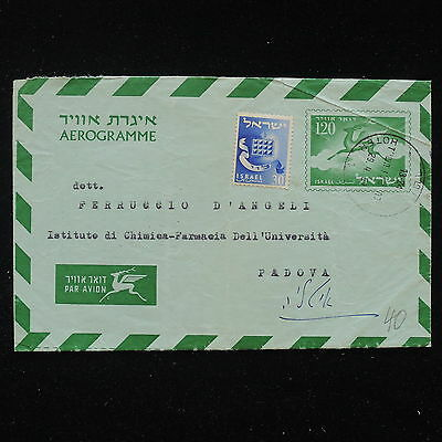 ZS-AA531 ISRAEL - Airmail, To Padua, Airletter Cover