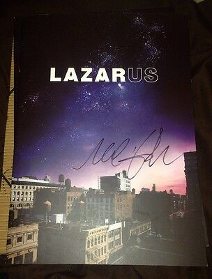 Michael C Hall Signed Lazardus Theatre Programme Dexter & Proof