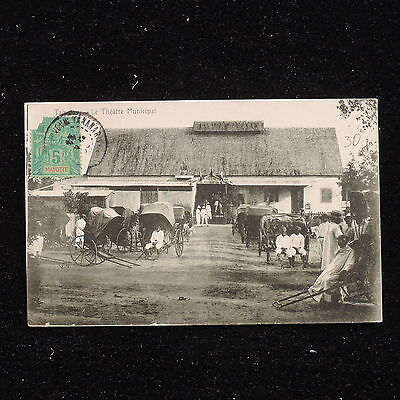 ZS-AB053 MAYOTTE - Postcard, From Antanarivo To Triest Italy Cover
