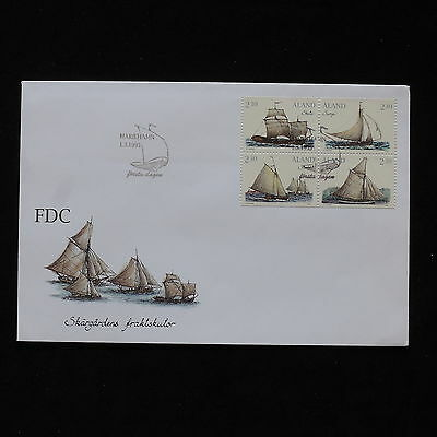 ZS-AB410 ALAND - Ships, 1995 Fdc Cover