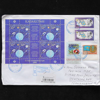 ZS-AB787 KAZAKHSTAN - Space, 2005 To Robel Germany Cover