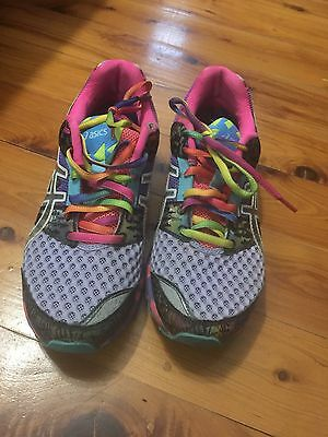 ASICS Purple/Colourful Running Shoes