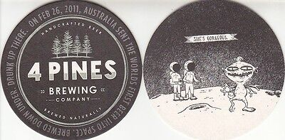4 Pines Brewery - Shes Gorgeous -  Australian issued  Beer Coaster - Beer Mat