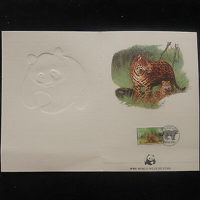 ZS-P069 WWF - Belize, Wild Animals, Fdc 1983 Booklet