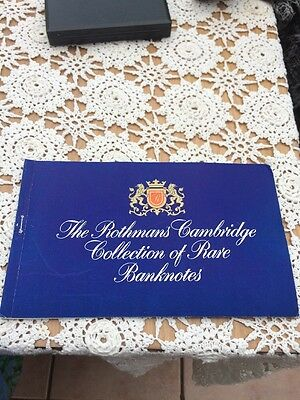 Rothmans Cambridge Rare Paper Currency Banknotes Collectable