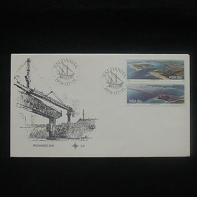 ZS-P216 SOUTH AFRICA IND - Fdc, Nature, Richards Bay, Saldanha 1978 Cover