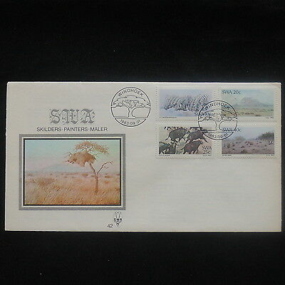 ZS-P231 S. WEST AFRICA IND - Fdc, Wild Animals, Landscapes 1983 Cover