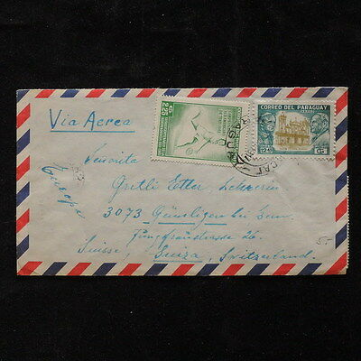 ZS-Q506 TENNIS - Paraguay, Great Franking 1971 (Front Back Photo) Cover