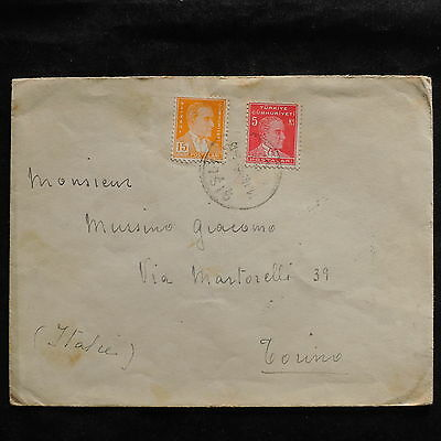 ZS-U205 TURKEY - Cover, 1943 Airmail To Italy