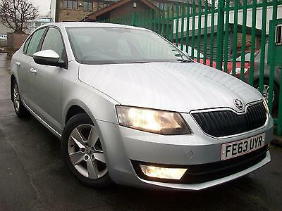 2013(63)Skoda Octavia 1.6TDI CR ( 105ps) SE Tdi 5 door silver manual diesel