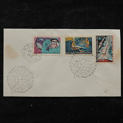 ZS-U450 SPACE - Vietnam, 1962 Fdc, Great Franking Cover
