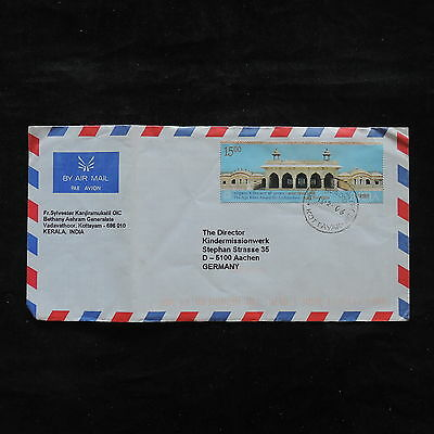 ZS-U707 INDIA IND - Monuments, 2006, Airmail To Germany Cover