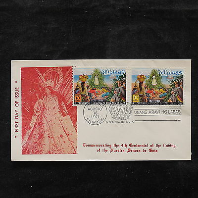 ZS-U761 PHILIPPINES IND - Fdc, 1971, Religion, Great Franking Cover