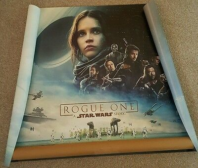Star Wars Rogue One cinema QUAD poster NEW