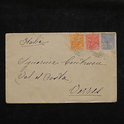ZS-W963 BRAZIL - Cover, Great Airmail To Italy