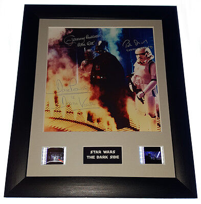 STAR WARS 35mm FRAMED AND MOUNTED FILM CELL PRESENTATION WITH PRINT
