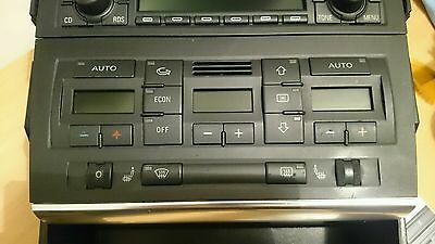 Audi a4 climate control unit with heated seat switches 2001-2007 B6 B7