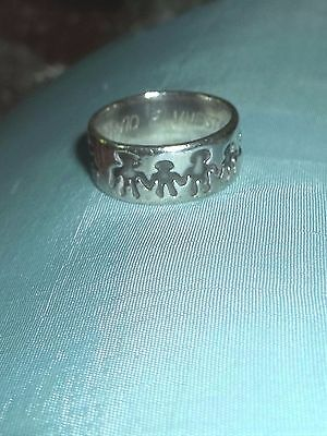 Mexico Sterling Silver People RIng