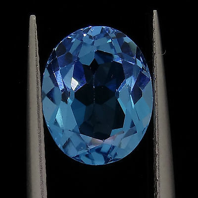 3.50ct oval cut natural blue topaz loose diamonds gemstones gems recycled