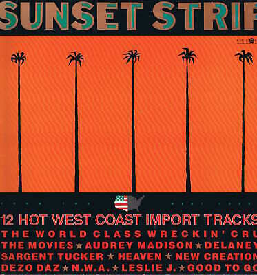 Various Artists – Sunset Strip – Westside Records – STRIP 1 – LP Vinyl Record