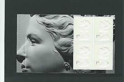 THE WHITE STAMPS IN A U.M.M. BLOCK OF FOUR Ex. PRESTIGE BOOK ISSUED IN 1999