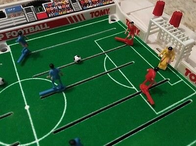 Tomy Super Cup Football Retro 1980's Classic Vintage Game + Spares - Fully Works